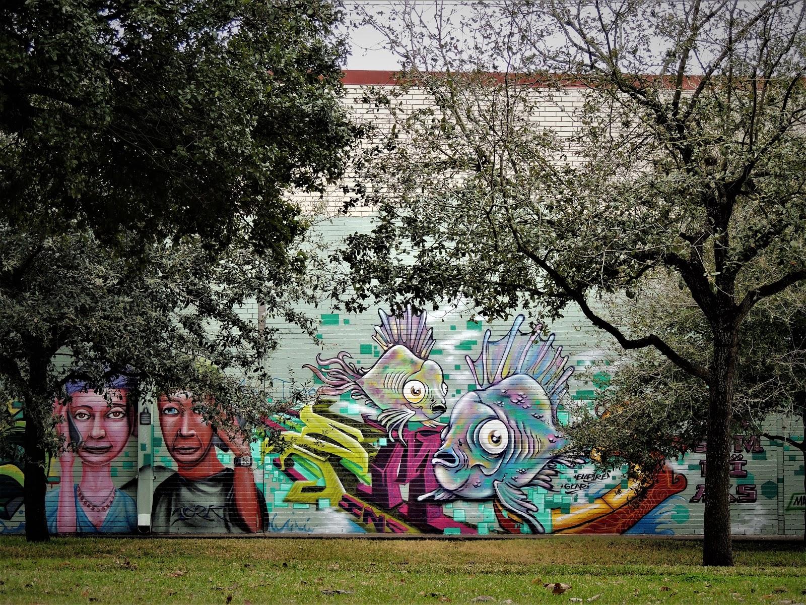 Graffiti Baldwin Park Houston