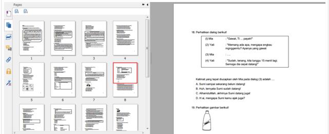 Soal Latihan UN (Ujian Nasional) Bahasa Indonesia SD