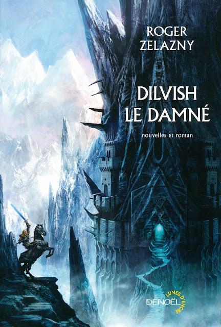 Le personnage de Zelazny, Dilvish, cerné par glace et neige