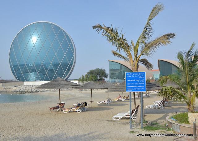 Al Raha Beach Hotel cabanas