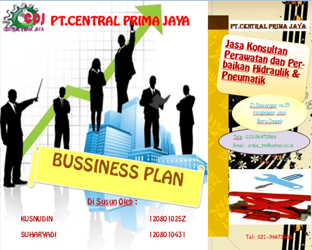 entertainment: brosure bisnis plan