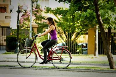Usa bicicleta para relajarte