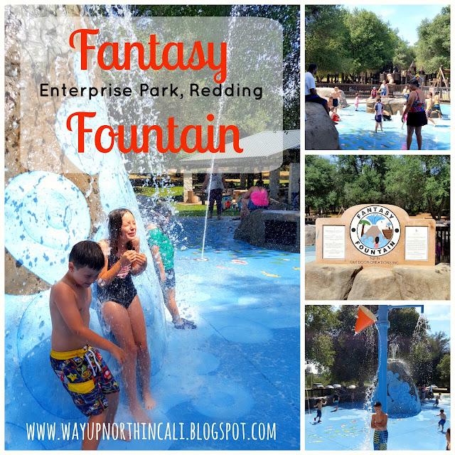 Fantasy Fountain, Enterprise Park, Redding California   www.wayupnorthincali.blogspot.com