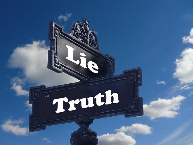 jujur dan bohong