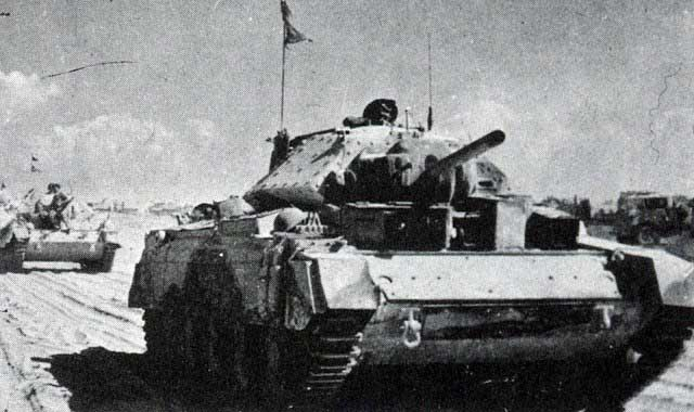 British Crusader tank in North Africa, 1 January 1942 worldwartwo.filminspector.com