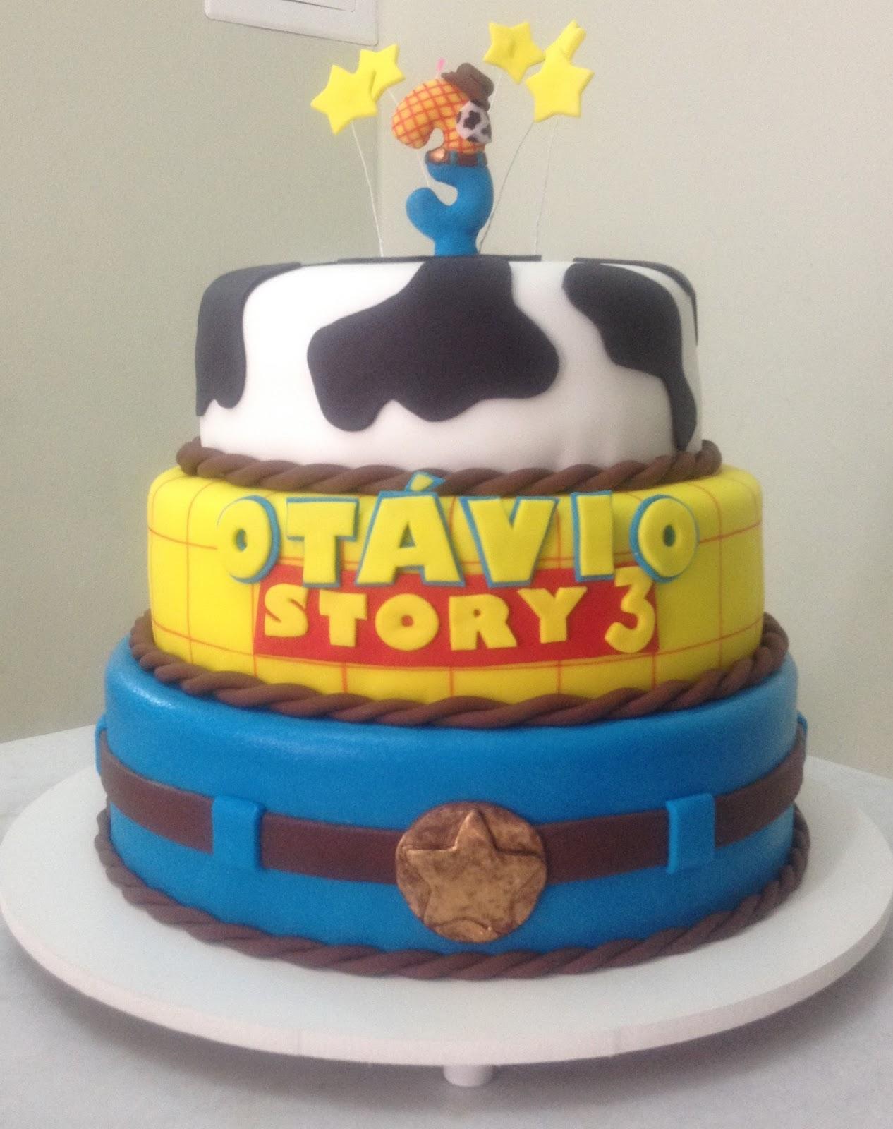 Populares Sugar Bella - Biscoitos e doces artesanais: Bolo Toy Story ZA65