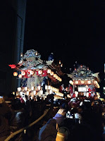 Chichibu Night Festival first night