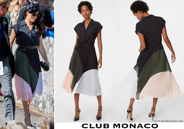 Meghan Markle wore Club Monaco Shoanah Dress