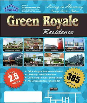 Green Royale Residence Perumahn Baru Bernuansa Cluster Di Karang Satria Bekasi