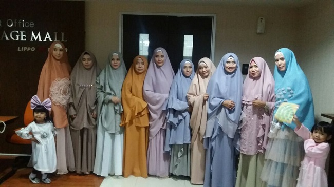 Warna-warni pastel busana muslim syar'i by Irma Intan