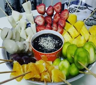 resep rujak buah