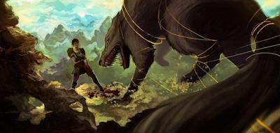 Fenrir el lobo del norte,mitologia nordica, vikingos