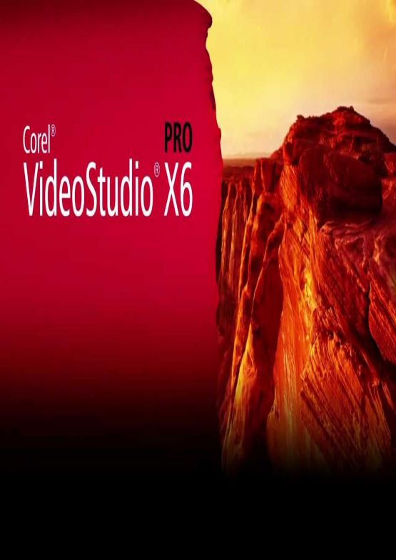 Download Corel VideoStudio Pro X6 for PC free full version