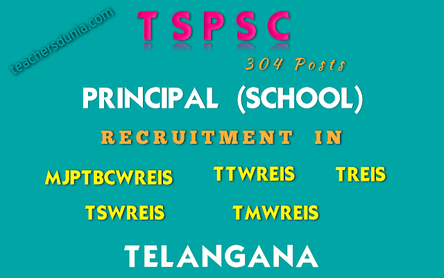 TSPSC-Principal-Schools-in-Residential-Educational-Institutions-Societies-Recruitment-Notification