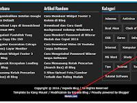 Cara Mudah Memasang Kode Histats di Footer Blog