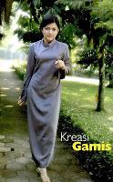Buku Pintar Menjahit Untuk Pemula karya Nur Astri Damayanti   POLA GAMIS DENGAN KERAH SYAL