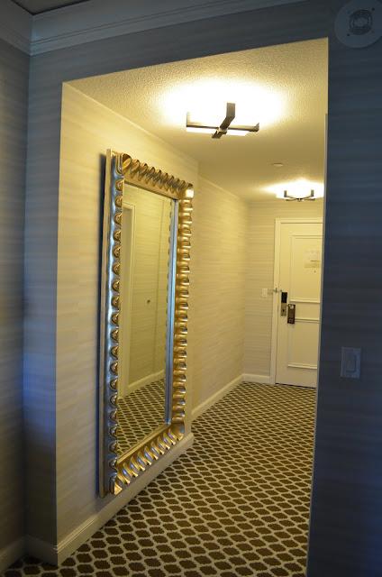 Entrada do quarto.