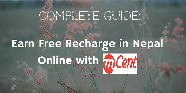 A Complete Guide To Earn Free Recharge in Nepal Online