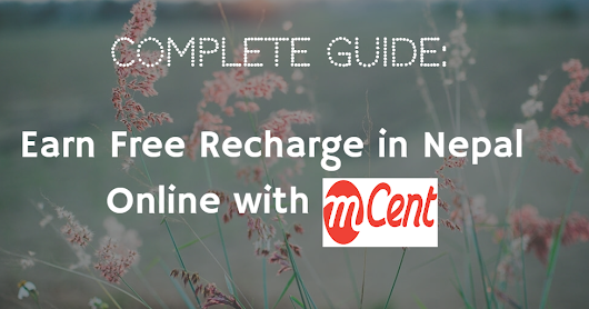 How To Earn Free Recharge in Nepal Online