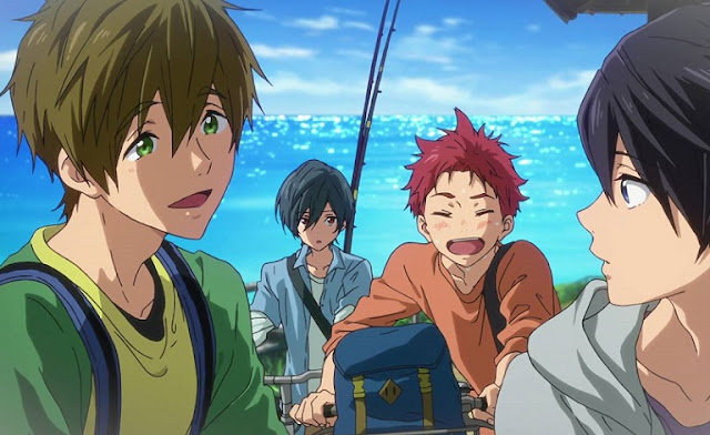 High☆Speed!: Free! Starting Days (2015) Subtitle Indonesia