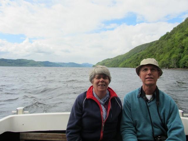 Varen op Loch Ness, Schotland