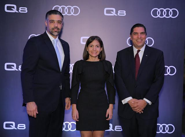 Alexander Gutiérrez, Carla Frías y Benjamín Paiewonsky