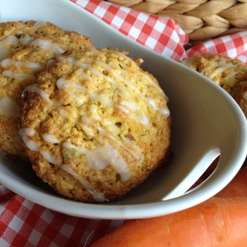 Möhren-Nuß-Cookies