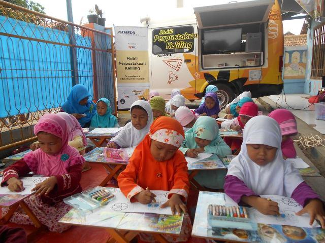Moju Kunjungi TK Little Abdullah School (LAB School)