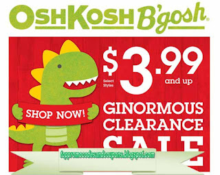 Free Printable OshKosh B'gosh Coupons