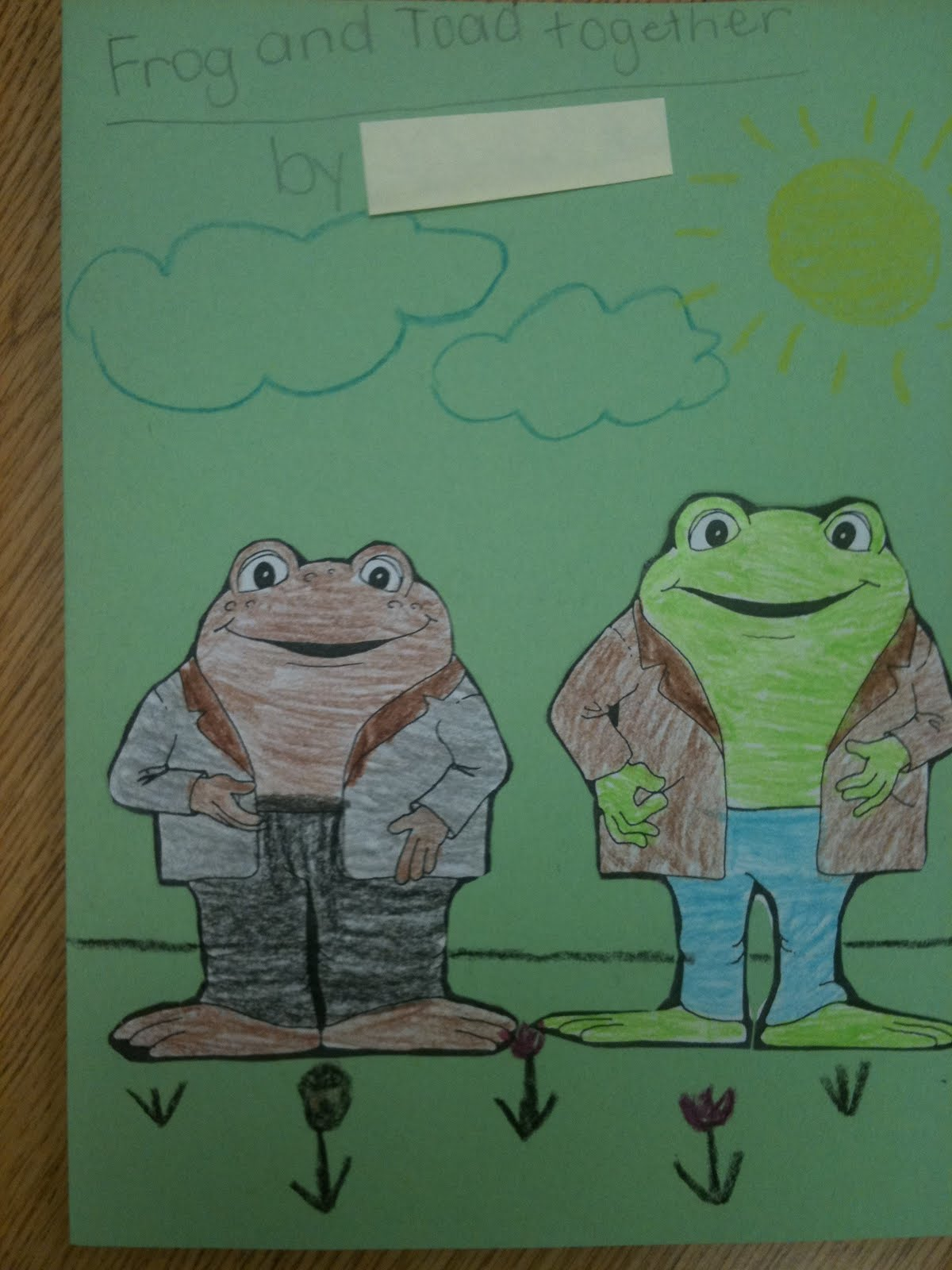 First Grade Best: Frog and Toad