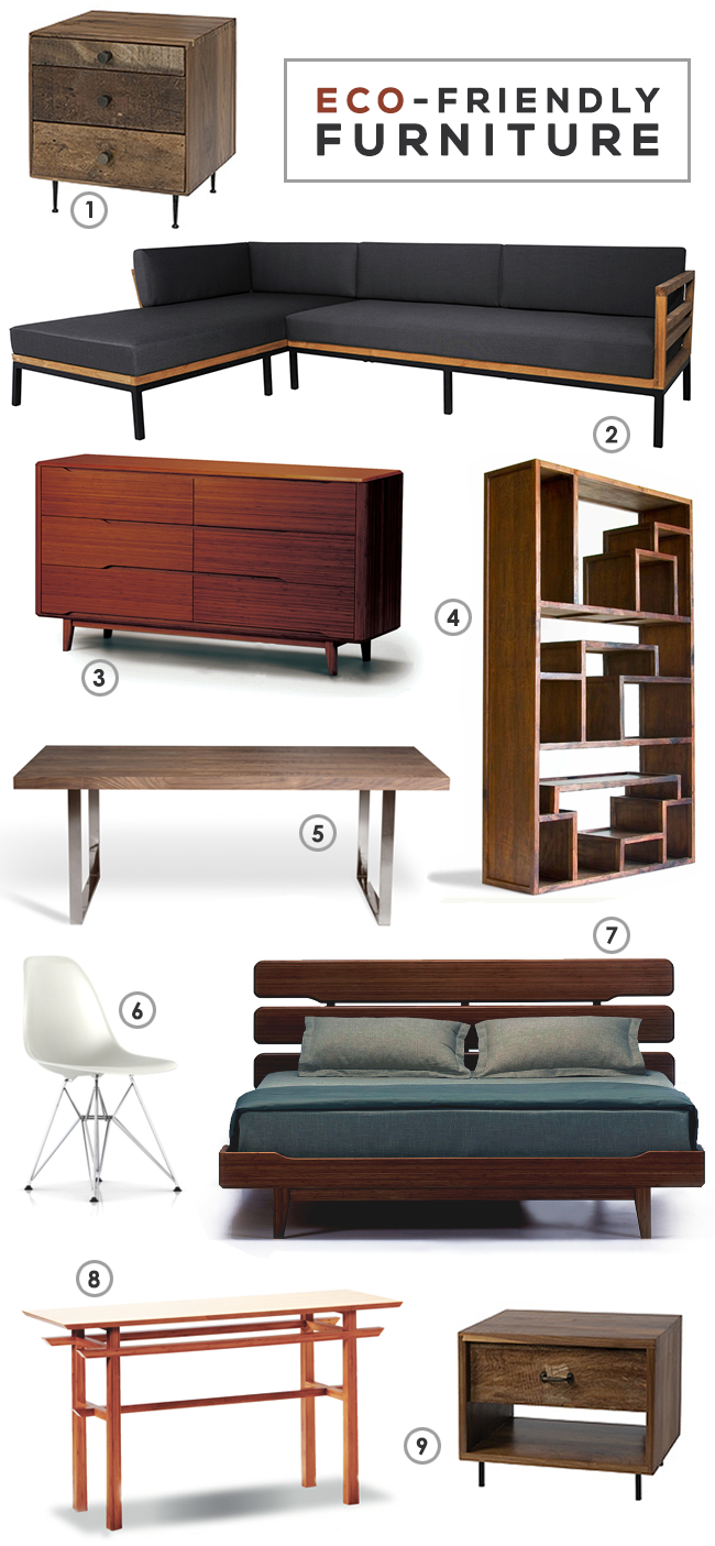 Bubby and Bean  Living Creatively Lets Talk EcoFriendly Furniture  My Favorite Pieces