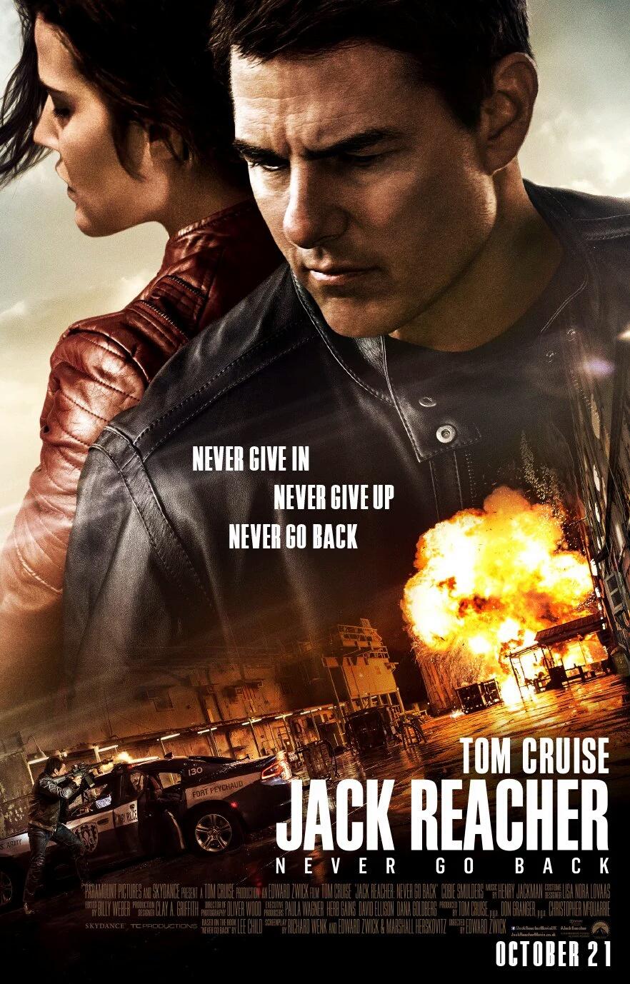 Jack Reacher 2 (2016) Download In 300MB Worldfree4u