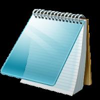 Bloc de notas listo para anotar percepciones del recorrido de la casa