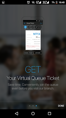 SBI NoQueue - Get Virtual Queue Ticket