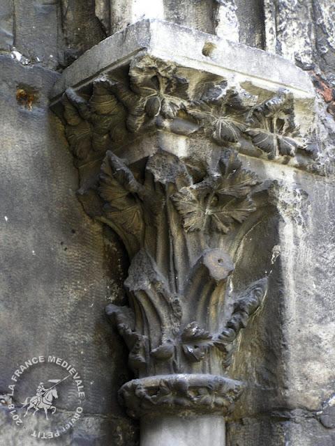 VIENNE (38) - Abbatiale romane Saint-André-le-Bas (Extérieur)