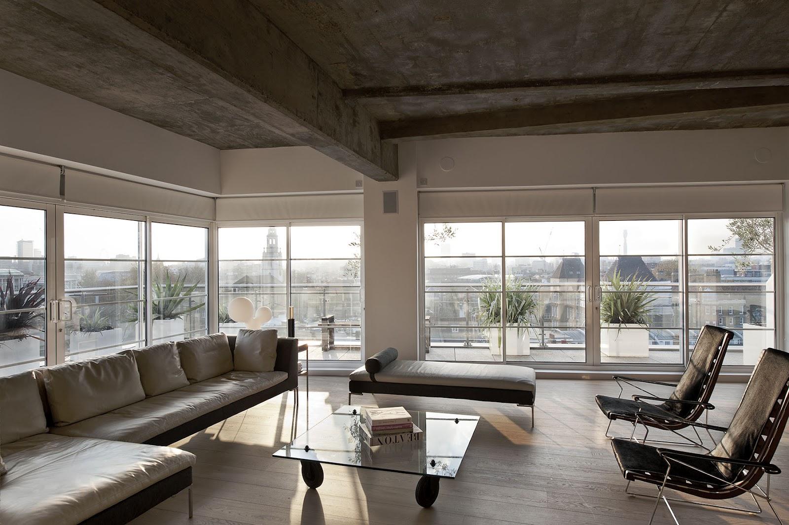 New Home Design: Outtakes: William Tozer's London loft