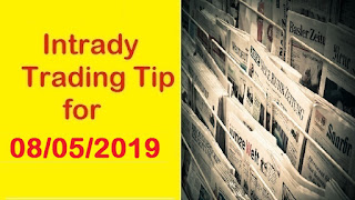Indian Stock Market Intraday Trading Tips for Wednesday - 08/05/2019 | Investing Guide