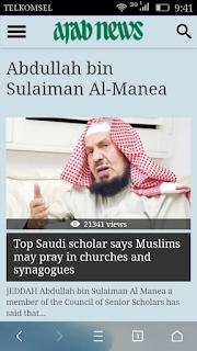 Mufti Saudi Arabia Ini Bolehkan Muslim Shalat di Gereja