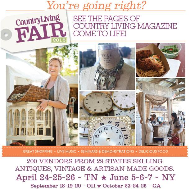 Chickenmash Farm News: Country Living Fair In Columbus, Ohio