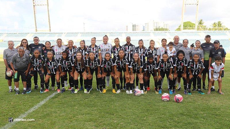 Meninas de Caucaia levam 46 gols em cinco partidas no Cearensão 2018 d65773e5edc8b