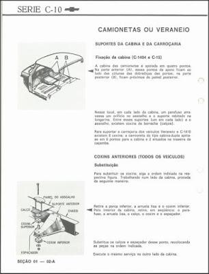 Manual de serviço Chevrolet C10