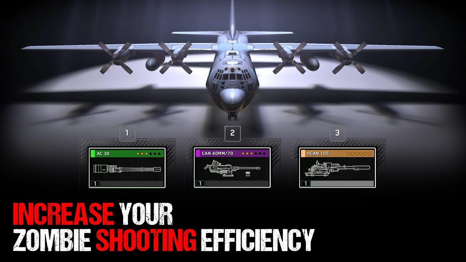 Zombie Gunship Survival MOD APK Terbaru