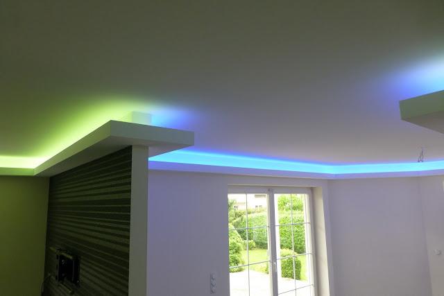 indirekte beleuchtung decke abh ngen hause dekoration ideen. Black Bedroom Furniture Sets. Home Design Ideas
