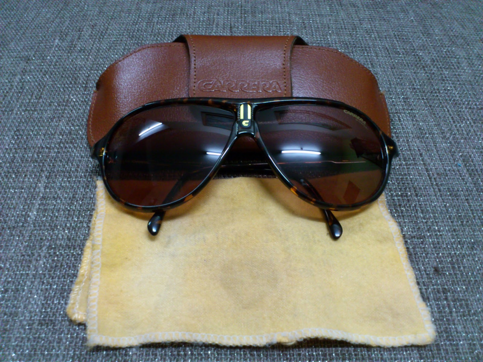 e8a28ad205 Vintage Bausch   Lomb Rayban Sunglasses  (SOLD)Carrera Ultrasight ...