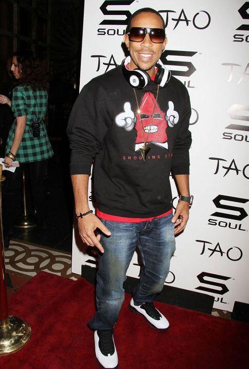 f9a2d935ecd1 Celeb Sneaker Game  Ludacris Rocking Air Jordan 10 Sneakers