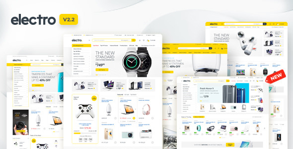 Electronics Store WooCommerce Theme Free Download Electro v2.2.8 – Electronics Store WooCommerce Theme Download