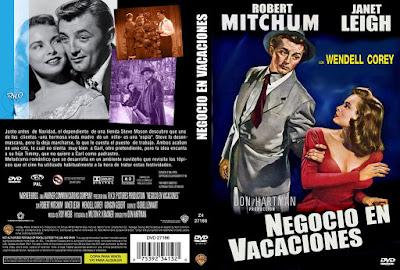 Negocio en vacaciones 1949 / Carátula dvd