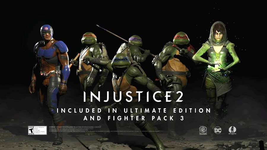 ninja turtles injustice 2 fighter pack 3