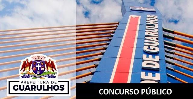 Concurso Prefeitura de Guarulhos: Inspetor Fiscal de Rendas