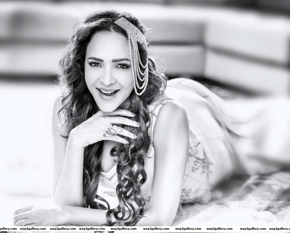 Our shutterbug caught Lakshmi Manchu at a photoshoot